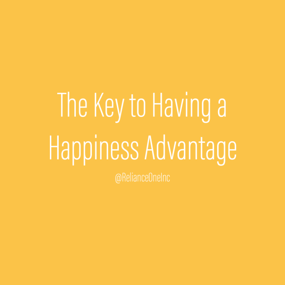 Happiness Advantage